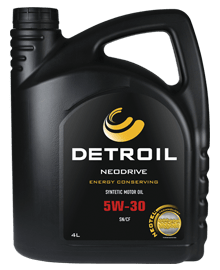 DETROIL Neodrive 5W30 Energy Conserving